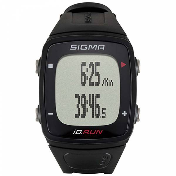 Bežecké hodinky Sigma iD.RUN black