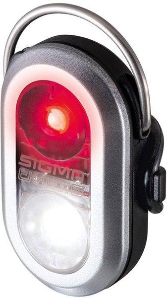 Světlo bezpečnostní Sigma MICRODUO stříbrné