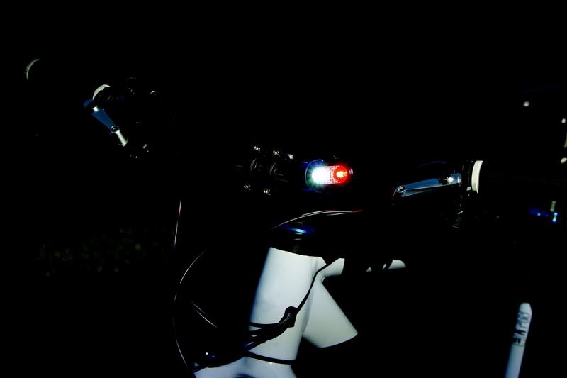 Svetlo bezpečnostné Sigma MICRODUO strieborné