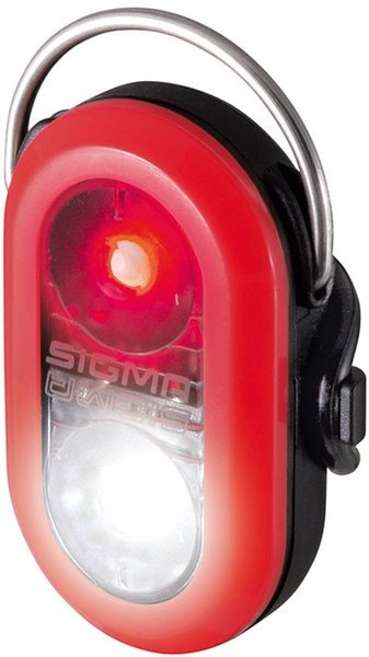 Světlo bezpečnostní Sigma MICRODUO červené