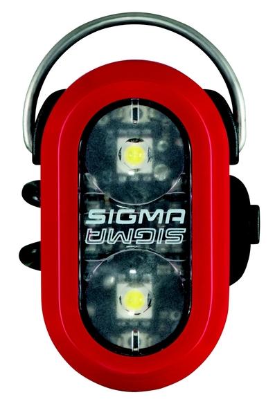 Svetlo bezpečnostné Sigma MICRODUO červené
