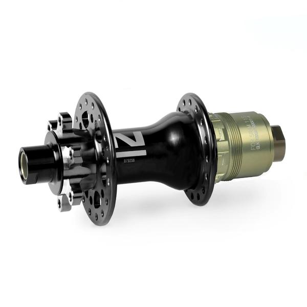 Náboj Novatec D792SB-X12-XD, zadný, 32-dierový, čierny (N-logo)