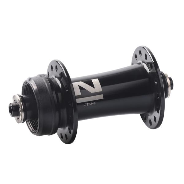 Náboj Novatec D791SB-CL, predný, 24-dierový, čierny (N-logo)