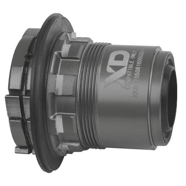 Náboj Novatec D462SB-SL-X12-XD, zadný, 32-dierový, čierny (N-logo)