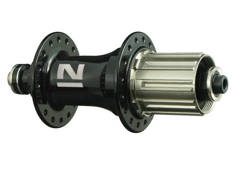 Náboj Novatec F162SB, zadný, 32-dierový, čierny (N-logo)