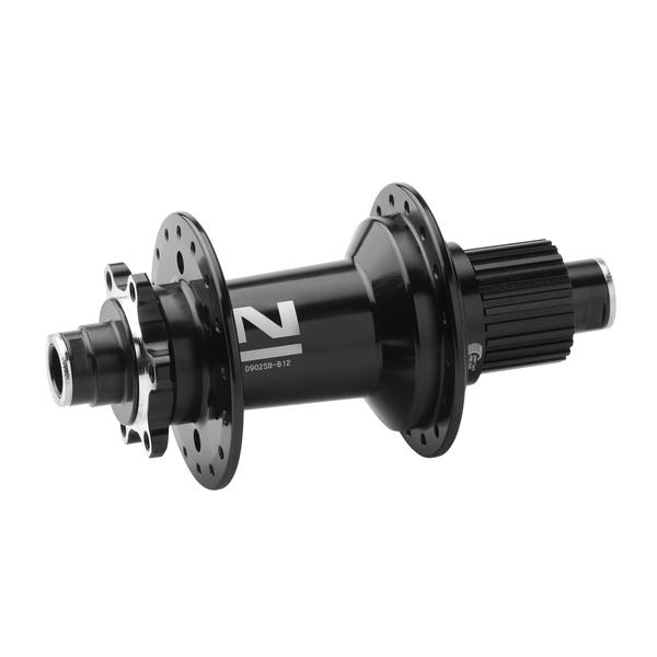 Náboj Novatec D902SB-B12-MS boost MicroSpline, čierny, 32-dierový (N-logo)