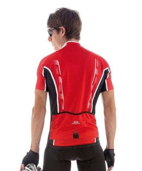 Cyklistický dres pánsky GIESSEGI Shade červený XL
