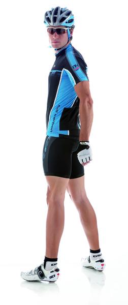 Cyklistický dres pánsky GIESSEGI Shade modro/čierny M