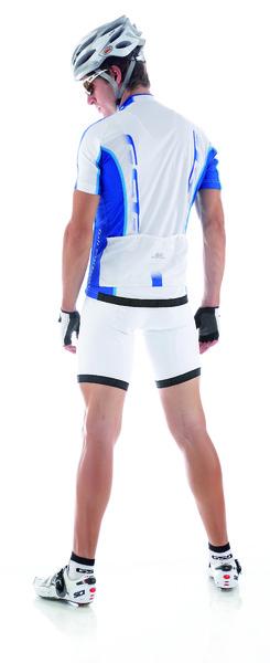 Cyklistický dres pánsky GIESSEGI Shade bielo/modrý M