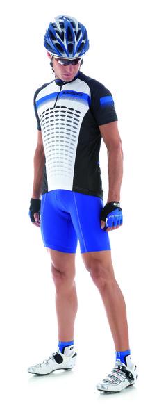 Cyklistický dres pánsky GIESSEGI Air modrý L