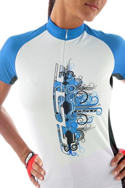 Cyklistický dres dámsky GIESSEGI Daphne fialový XS