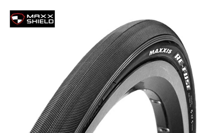 Plášť MAXXIS Re-Fuse 700x23 kevlar 60TPI čierny