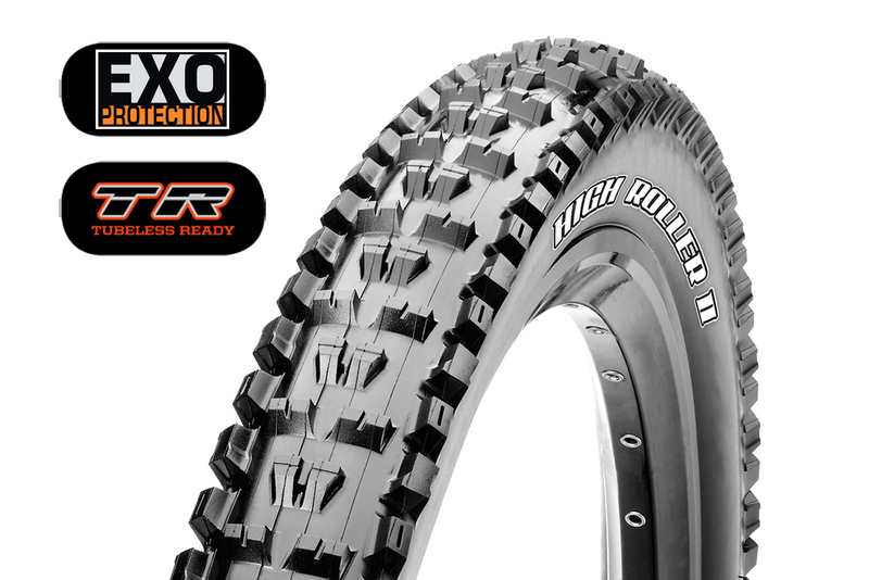 Plášť MAXXIS High Roller II 26x2.30 kevlar EXO TR DC