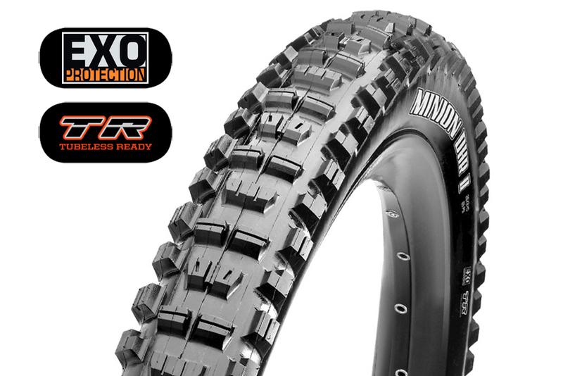 MAXXIS Minion DHR II 29x 2.60 WT kevlar EXO TR SKINWALL