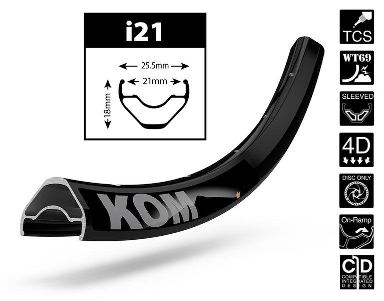 """Ráfik WTB KOM i21, 27.5"""""""