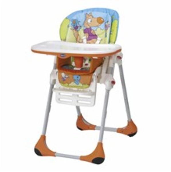 Jedálenská stolička CHICCO Polly 2v1 6m+ - Wood Friends