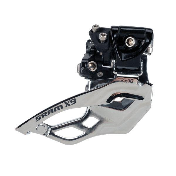 Prešmýkač SRAM X9  High Clamp 34,9mm 2x10 Speed, univerzálny ťah