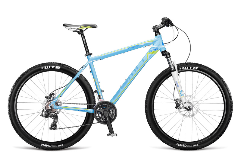 Kerékpárok DEMA PEGAS 7.0 blue-green 17