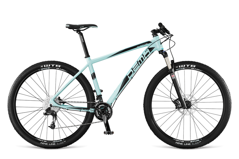 Bicykel Dema AURON 7.0 celeste green-black 17