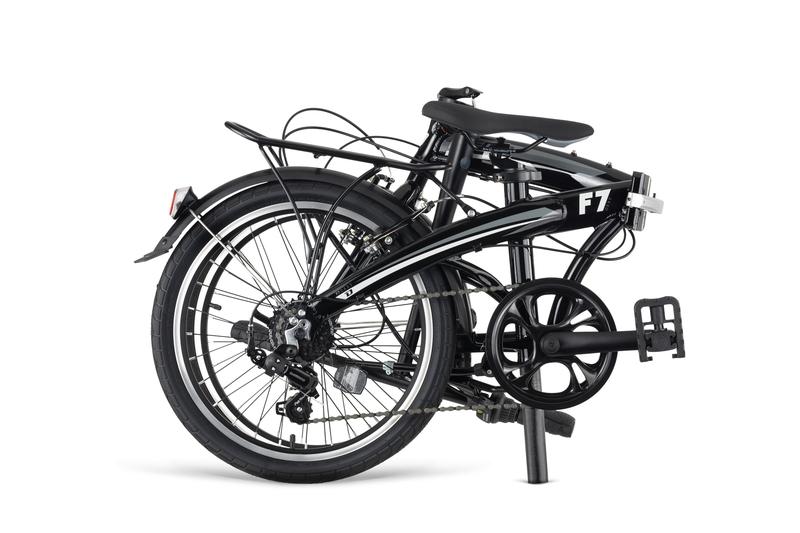 Bicykel Dema F7 black
