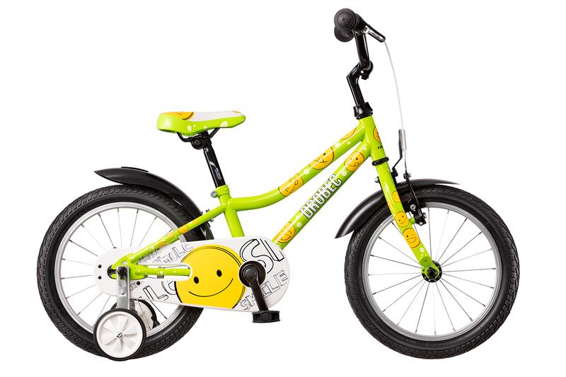 Bicykel Dema DROBEC 16 green