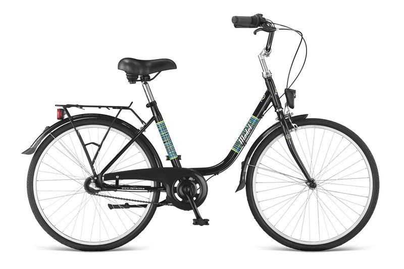 Bicykel Dema MODET 24x1 3/8 3sp black