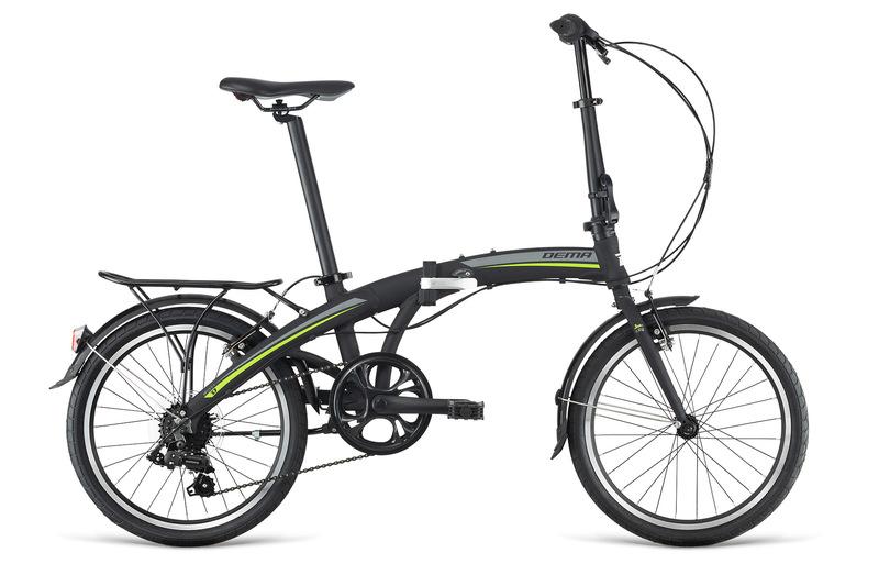 Bicykel Dema OXXY F7 black