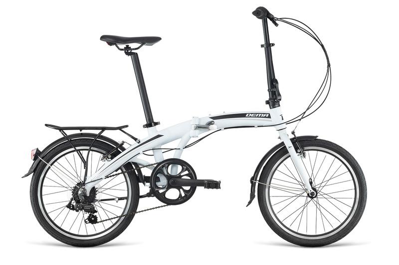 Bicykel Dema OXXY F7 white