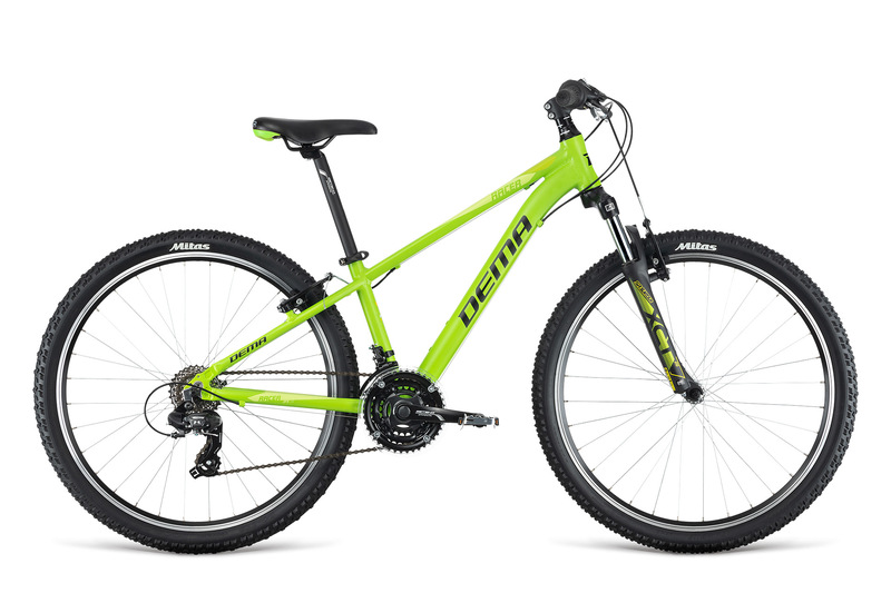 Bicykel Dema RACER 26 green-black