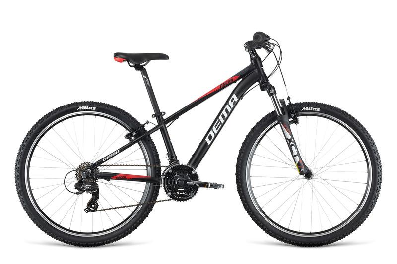 Bicykel Dema RACER 26 black-red