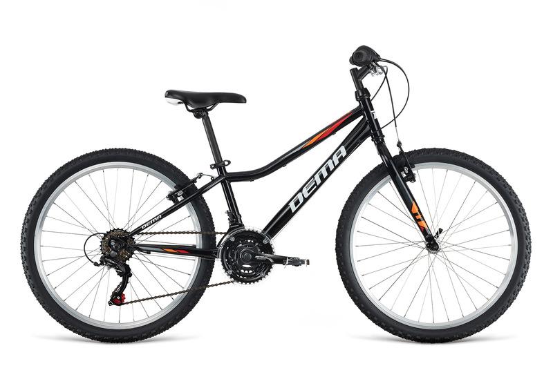 Bicykel Dema ISEO 24 black