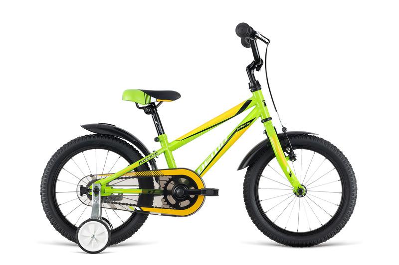 Bicykel Dema ROCKIE 16 green