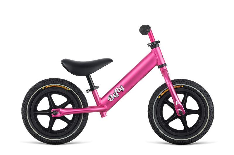 Odrážadlo BeFly LITTLE HERO pink