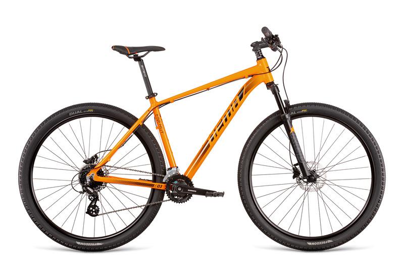 Dema ENERGY 3 oranžové (165-178 cm)