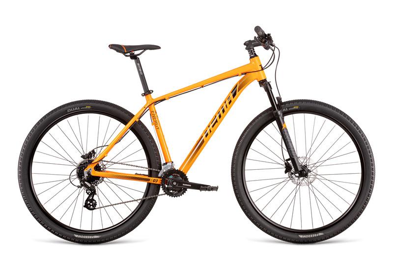 Dema ENERGY 3 oranžové (175-188 cm)