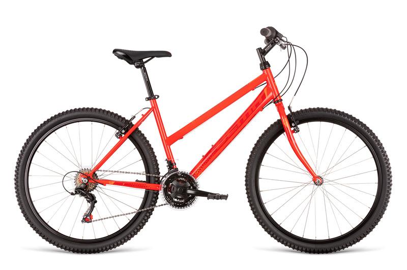 Dema ECCO LADY 1 červená (150-165 cm)
