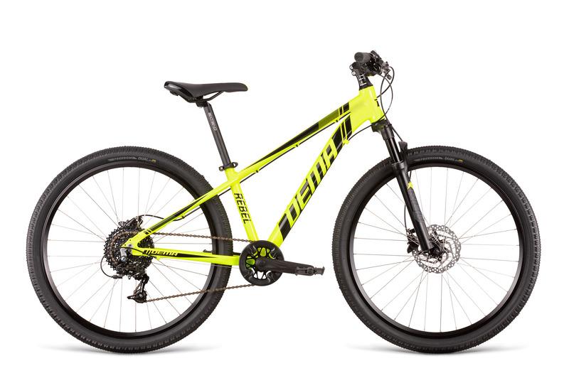 Bicykel Dema REBEL 26 neon yellow-black