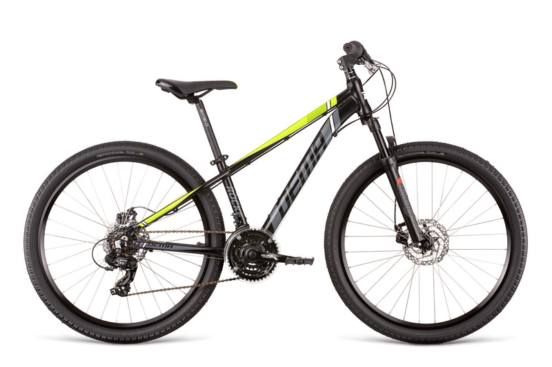 Bicykel Dema ROCKET 26 black-neon yellow