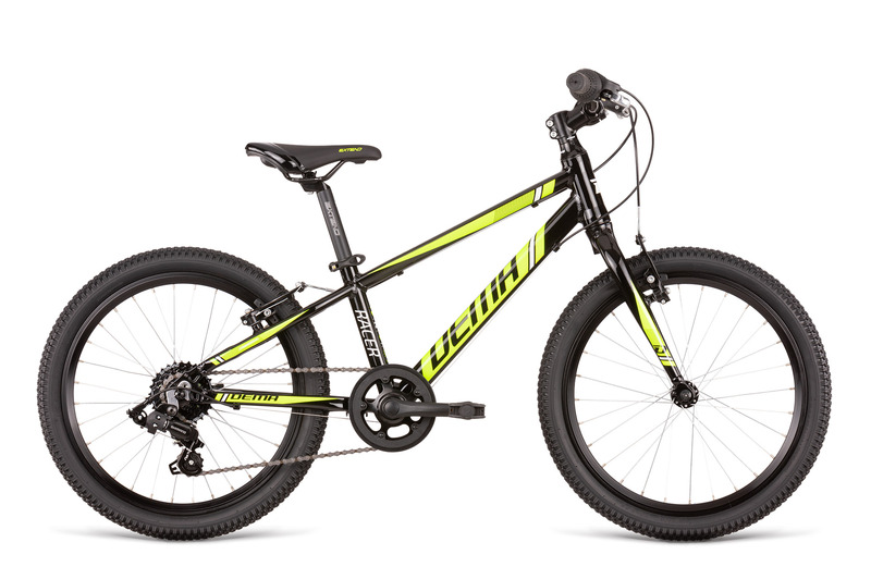Bicykel Dema RACER 20 SL black-neon yellow