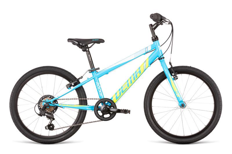 Dema ROCKIE 20 RF modré/neon (115-135 cm)