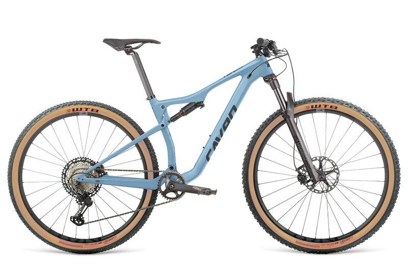 "Bicykel Dema RAVEN HD blue steel-black L / 19"""
