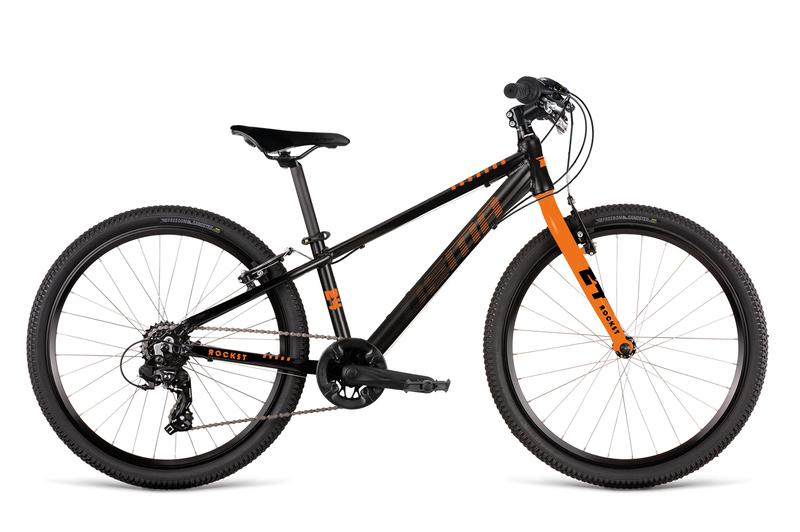 Bicykel Dema ROCKET 24 black-orange