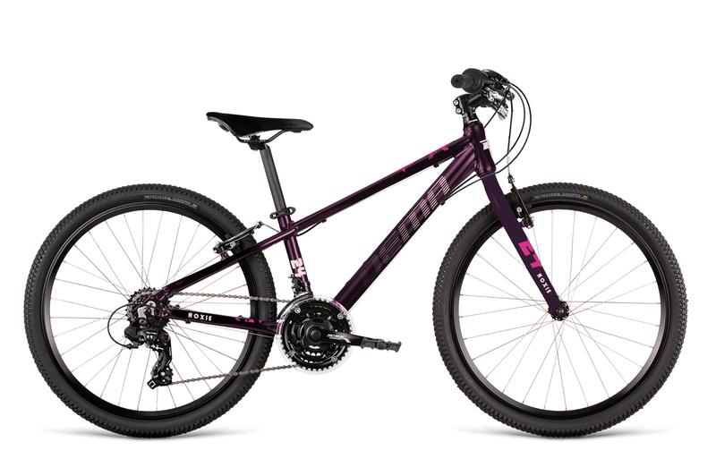 Bicykel Dema ROXIE 24 bordo-pink