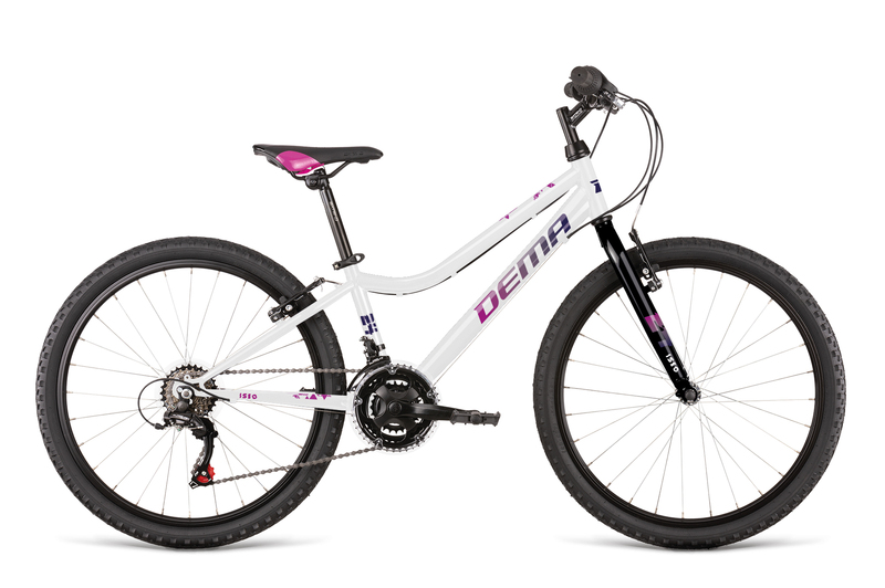 Bicykel Dema ISEO 24 white-violet
