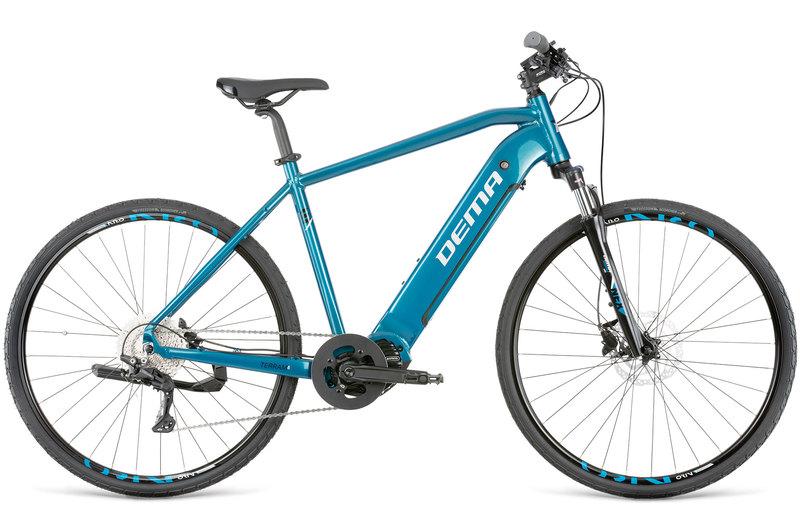 "Bicykel Dema TERRAM 6 blue-chrome L / 20"""