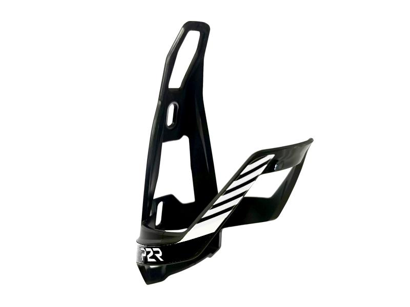 Košík na cyklolahev P2R HUGG, black-white
