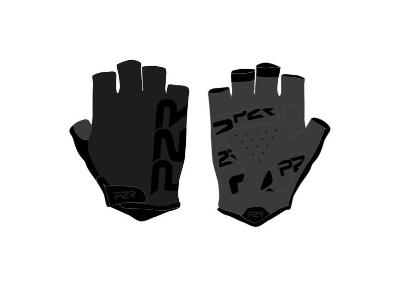 Rukavice pánské P2R GRIPPER black-black S