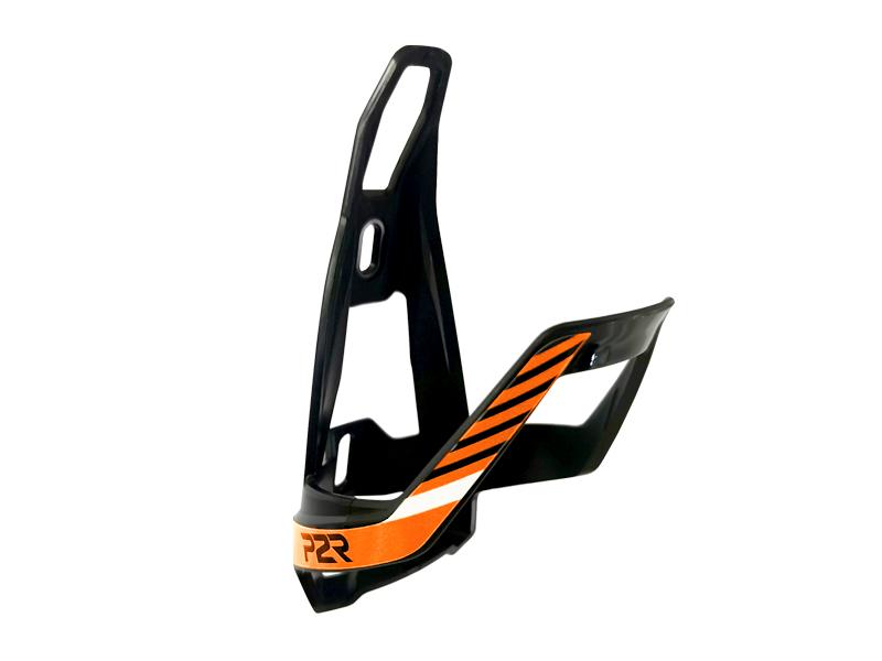Košík na cyklolahev P2R HUGG, black-orange