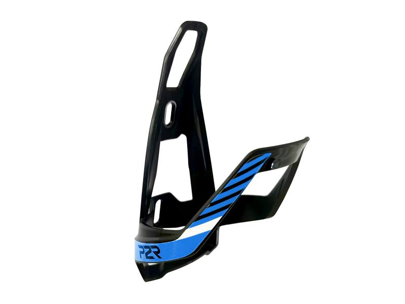 Košík na cyklolahev P2R HUGG, black-sky blue