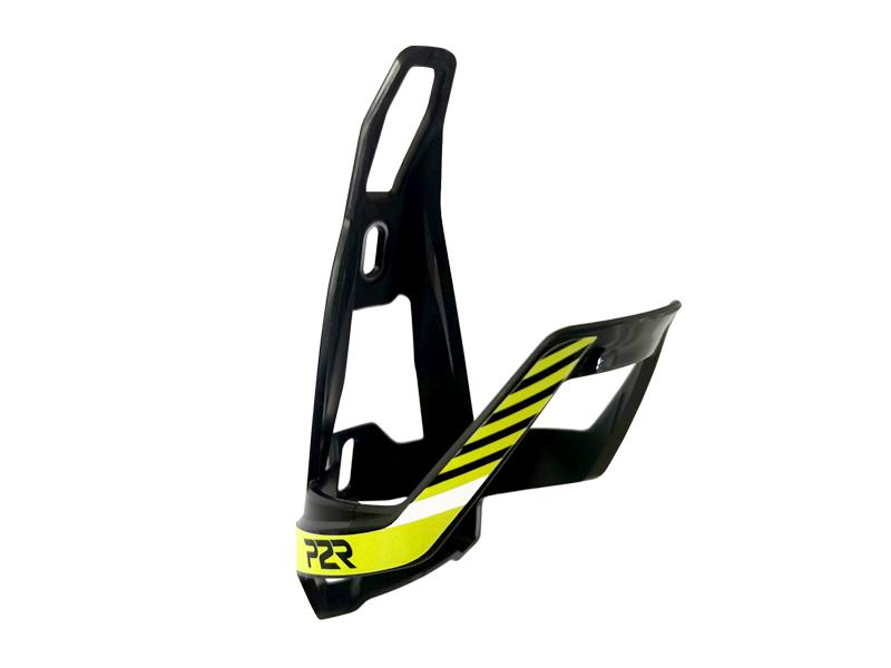 Košík na cyklolahev P2R HUGG, black-lime